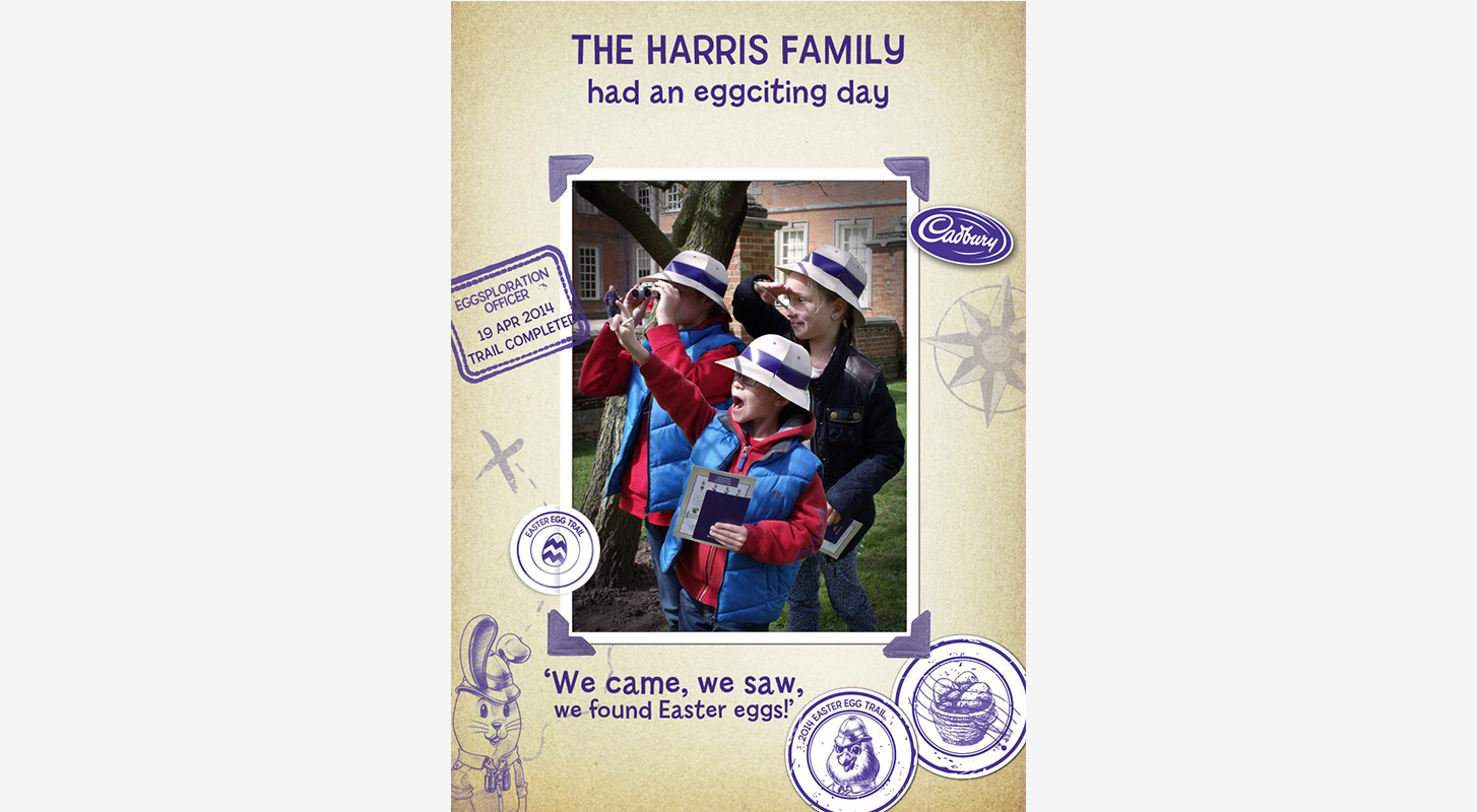 Cadbury Easter eggsplorer - event